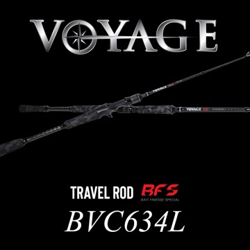 Rod Bone BVC634L Cast Travel 4pc MdFast 6ft3in PE0.3-1