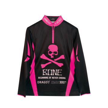 Apparel Bone CFPL Jersey Long Black Pink
