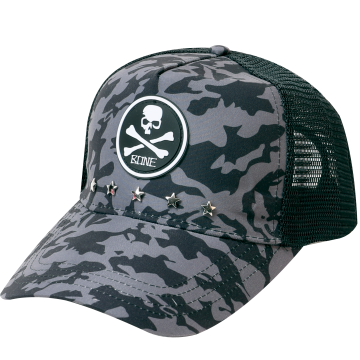 Apparel Bone CPGRY Mesh Cap Grey Camo