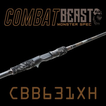 Rod Bone CBB631XH Fast Baitcast 1pc 6ft3inch PE1.5-3