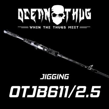 Rod Bone OTJB61125 OceanThug JigCast PE1.0-2.5