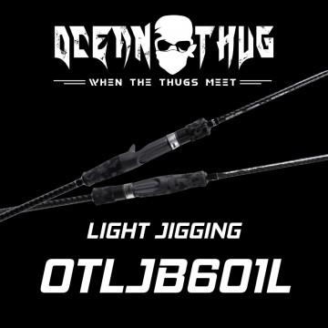 Rod Bone OTLJB601L OceanThug LightJig Cast PE0.8-2.0