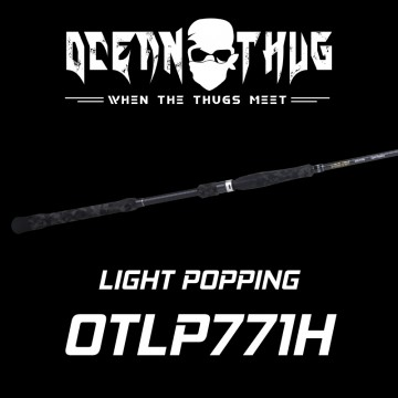 Rod Bone OTLP771H OceanThug LightPop PE3.0-6.0