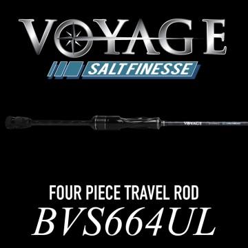Rod Bone BVS664UL Spin Travel 4pc 6ft6inch PE0.1-0.4