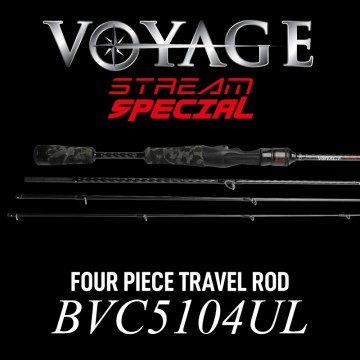 Rod Bone BVC5104UL Cast Travel 4pc 5ft10inch PE0.1-0.6