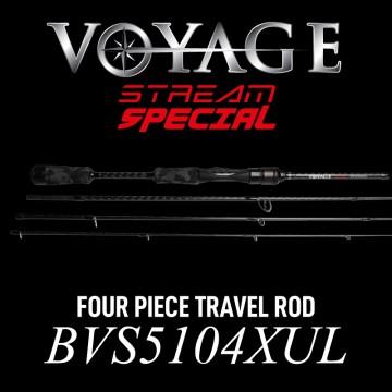 Rod Bone BVS5104XUL Spin Travel 4pc 5ft10inch PE0.1-7